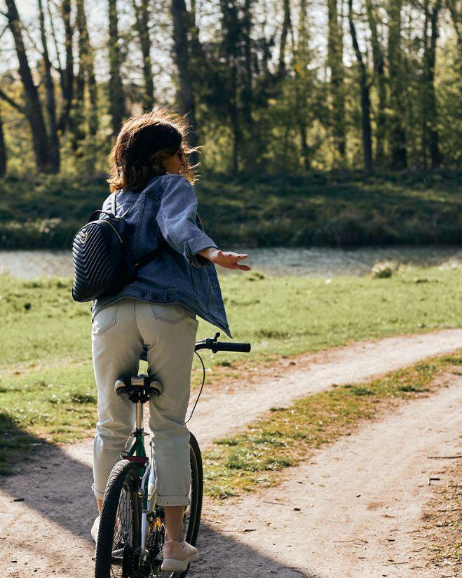 Rimessa per moto e biciclette